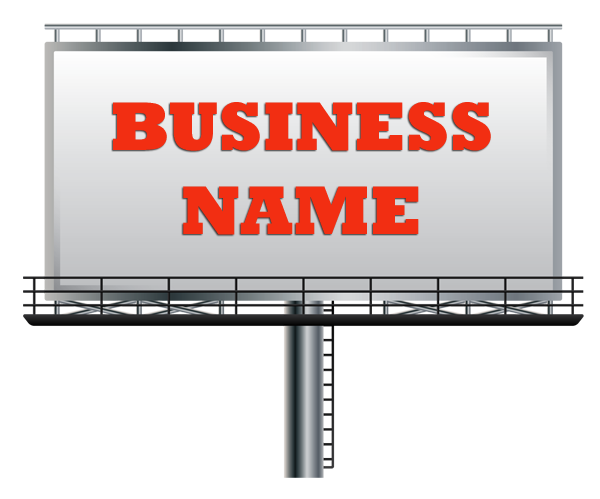How to create a business name clare mont white dorpers for Roofing names ideas