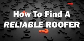 find a reliable roofer